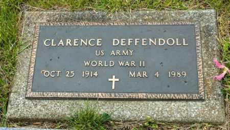 DEFFENDOLL, CLARENCE - Crawford County, Ohio | CLARENCE DEFFENDOLL - Ohio Gravestone Photos
