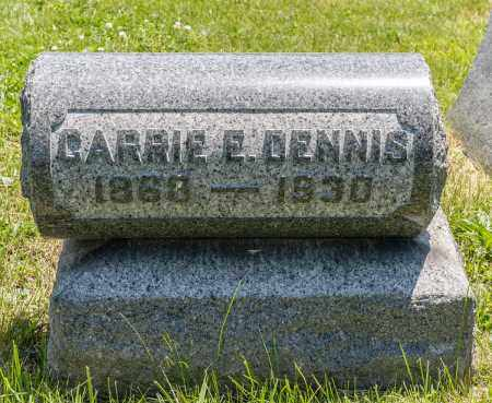 DENNIS, CARRIE E. - Crawford County, Ohio | CARRIE E. DENNIS - Ohio Gravestone Photos