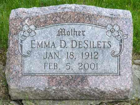 DESILETS, EMMA D. - Crawford County, Ohio | EMMA D. DESILETS - Ohio Gravestone Photos