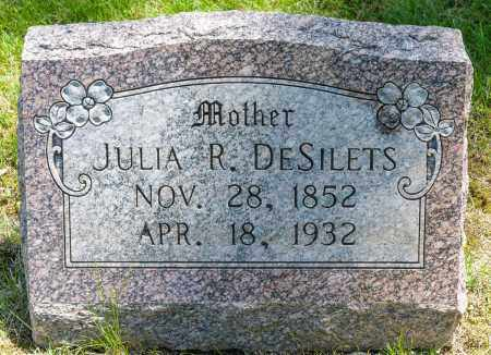 JOHN DESILETS, JULIA R. - Crawford County, Ohio | JULIA R. JOHN DESILETS - Ohio Gravestone Photos