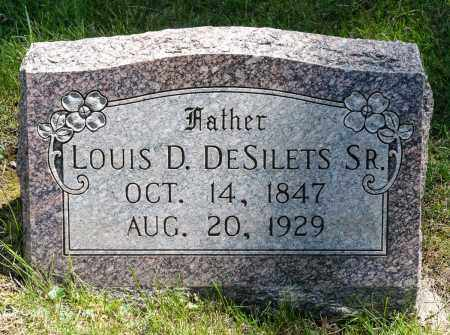 DESILETS, LOUIS D.  SR. - Crawford County, Ohio | LOUIS D.  SR. DESILETS - Ohio Gravestone Photos