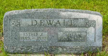 DEWALT, ESTHER B. - Crawford County, Ohio | ESTHER B. DEWALT - Ohio Gravestone Photos