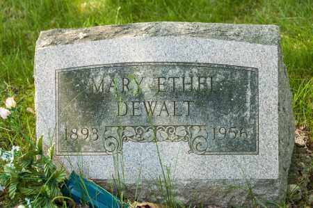 DEWALT, MARY ETHEL - Crawford County, Ohio | MARY ETHEL DEWALT - Ohio Gravestone Photos
