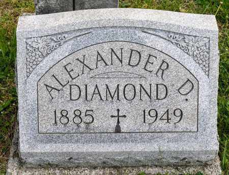 DIAMOND, ALEXANDER DOUGLAS - Crawford County, Ohio | ALEXANDER DOUGLAS DIAMOND - Ohio Gravestone Photos