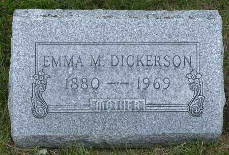 SEITZ DICKERSON, EMMA MARIE - Crawford County, Ohio | EMMA MARIE SEITZ DICKERSON - Ohio Gravestone Photos