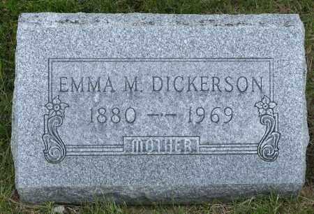 DICKERSON, EMMA MARIE - Crawford County, Ohio | EMMA MARIE DICKERSON - Ohio Gravestone Photos