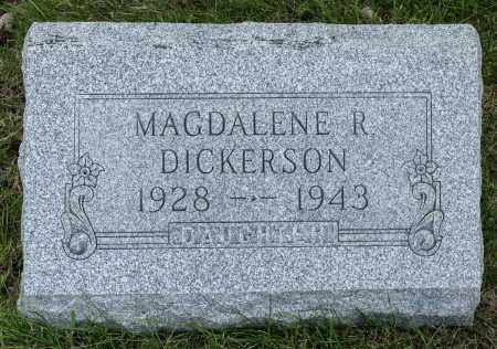 DICKERSON, MAGDALENE R. - Crawford County, Ohio | MAGDALENE R. DICKERSON - Ohio Gravestone Photos