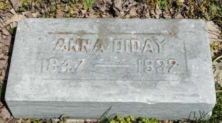 DIDAY, ANNA - Crawford County, Ohio | ANNA DIDAY - Ohio Gravestone Photos