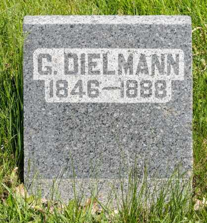 DIELMANN, GEORGE - Crawford County, Ohio | GEORGE DIELMANN - Ohio Gravestone Photos