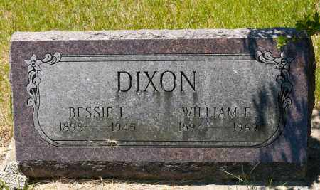 DIXON, BESSIE I. - Crawford County, Ohio | BESSIE I. DIXON - Ohio Gravestone Photos