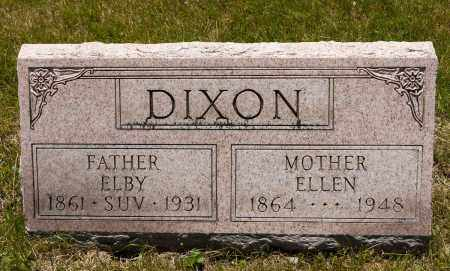 DIXON, ELBY - Crawford County, Ohio | ELBY DIXON - Ohio Gravestone Photos