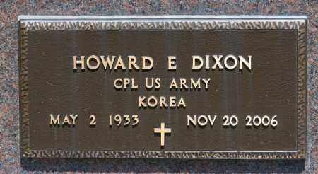 DIXON, HOWARD E. - Crawford County, Ohio | HOWARD E. DIXON - Ohio Gravestone Photos