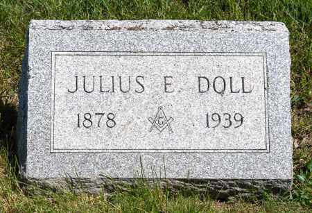 DOLL, JULIUS E. - Crawford County, Ohio | JULIUS E. DOLL - Ohio Gravestone Photos