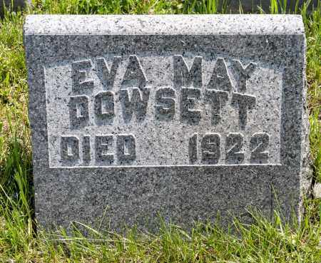 DOWSETT, EVA MAY - Crawford County, Ohio | EVA MAY DOWSETT - Ohio Gravestone Photos