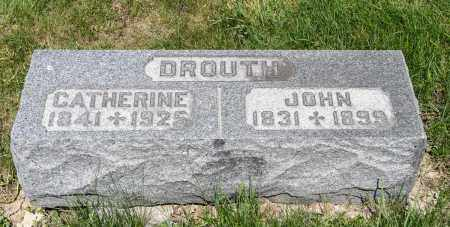 HESSENAUER DROUTH, CATHERINE - Crawford County, Ohio | CATHERINE HESSENAUER DROUTH - Ohio Gravestone Photos