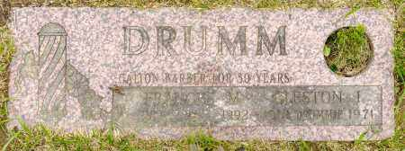 FOGLE DRUMM, FRANCES M. - Crawford County, Ohio | FRANCES M. FOGLE DRUMM - Ohio Gravestone Photos