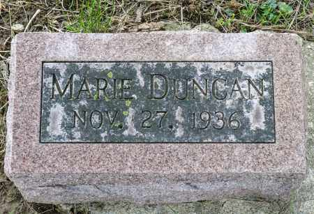 DUNCAN, MARIE - Crawford County, Ohio | MARIE DUNCAN - Ohio Gravestone Photos