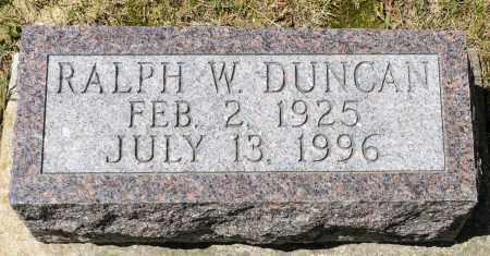 DUNCAN, RALPH W. - Crawford County, Ohio | RALPH W. DUNCAN - Ohio Gravestone Photos