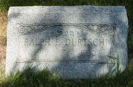 DURTSCHI, RALPH F. - Crawford County, Ohio | RALPH F. DURTSCHI - Ohio Gravestone Photos
