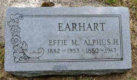 EARHART, EFFIE M. - Crawford County, Ohio | EFFIE M. EARHART - Ohio Gravestone Photos
