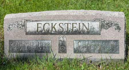 HERR ECKSTEIN, KATHRYN ELIZABETH - Crawford County, Ohio | KATHRYN ELIZABETH HERR ECKSTEIN - Ohio Gravestone Photos