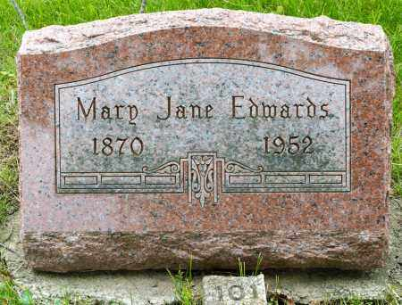 EDWARDS, MARY JANE - Crawford County, Ohio | MARY JANE EDWARDS - Ohio Gravestone Photos