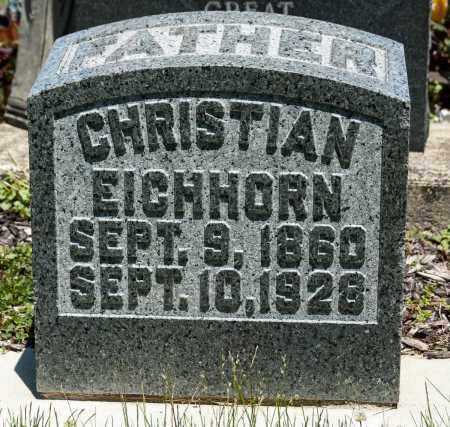 EICHHORN, CHRISTIAN - Crawford County, Ohio | CHRISTIAN EICHHORN - Ohio Gravestone Photos