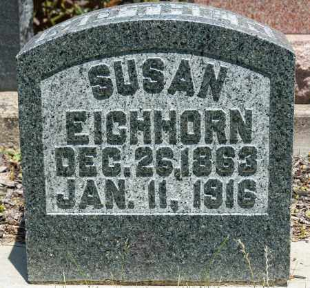 EICHHORN, SUSAN - Crawford County, Ohio | SUSAN EICHHORN - Ohio Gravestone Photos
