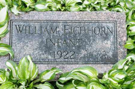 EICHHORN, WILLIAM - Crawford County, Ohio | WILLIAM EICHHORN - Ohio Gravestone Photos