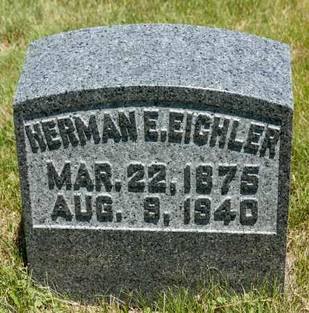 EICHLER, HERMAN E. - Crawford County, Ohio   HERMAN E. EICHLER - Ohio Gravestone Photos