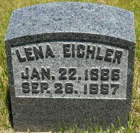 KLINGER EICHLER, LENA - Crawford County, Ohio | LENA KLINGER EICHLER - Ohio Gravestone Photos