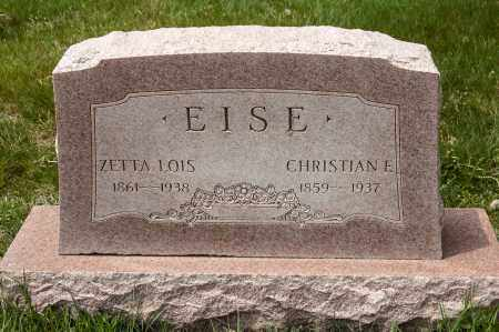 EISE, ZETTA LOIS - Crawford County, Ohio | ZETTA LOIS EISE - Ohio Gravestone Photos