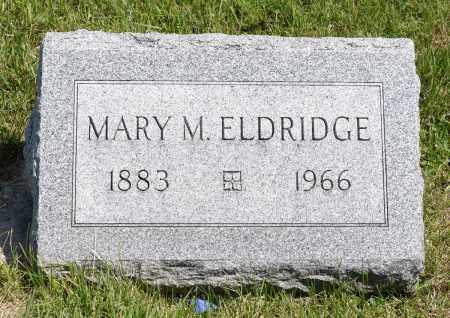 ELDRIDGE, MARY M. - Crawford County, Ohio | MARY M. ELDRIDGE - Ohio Gravestone Photos