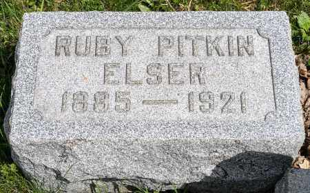 ELSER, RUBY - Crawford County, Ohio | RUBY ELSER - Ohio Gravestone Photos