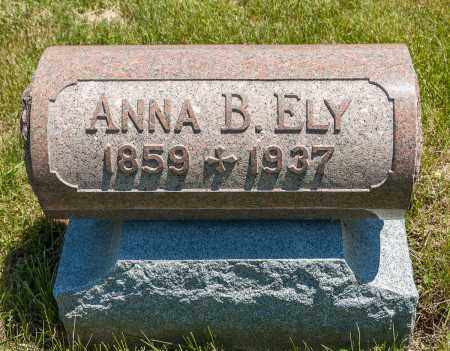 ELY, ANNA BELLE - Crawford County, Ohio | ANNA BELLE ELY - Ohio Gravestone Photos