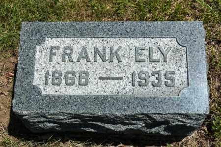 ELY, FRANK - Crawford County, Ohio   FRANK ELY - Ohio Gravestone Photos