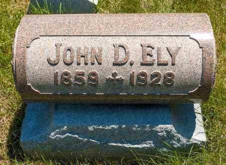 ELY, JOHN D. - Crawford County, Ohio | JOHN D. ELY - Ohio Gravestone Photos