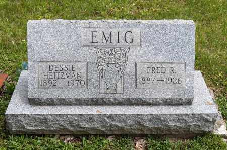 EMIG, DESSIE - Crawford County, Ohio | DESSIE EMIG - Ohio Gravestone Photos
