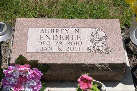 ENDERLE, AUBREY N. - Crawford County, Ohio | AUBREY N. ENDERLE - Ohio Gravestone Photos