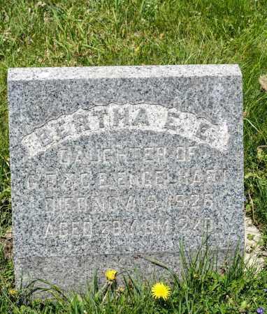 ENGELHART, BERTHA  E. E. - Crawford County, Ohio | BERTHA  E. E. ENGELHART - Ohio Gravestone Photos