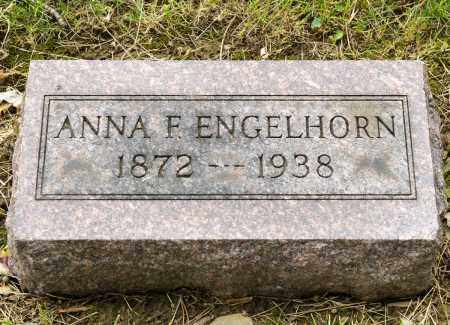 ENGELHORN, ANNA F. - Crawford County, Ohio | ANNA F. ENGELHORN - Ohio Gravestone Photos