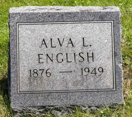 ENGLISH, ALVA L. - Crawford County, Ohio | ALVA L. ENGLISH - Ohio Gravestone Photos