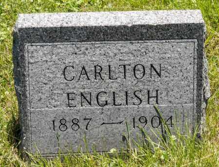 ENGLISH, CARLTON - Crawford County, Ohio | CARLTON ENGLISH - Ohio Gravestone Photos