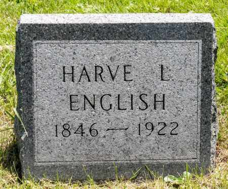 ENGLISH, HARVEY L. - Crawford County, Ohio | HARVEY L. ENGLISH - Ohio Gravestone Photos