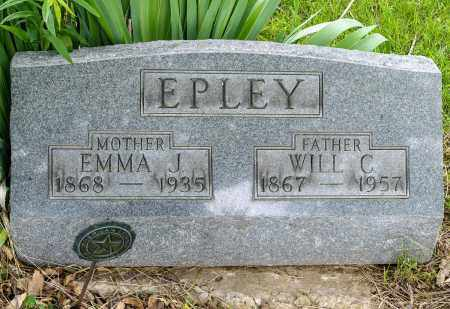 HARDING EPLEY, EMMA JANE - Crawford County, Ohio | EMMA JANE HARDING EPLEY - Ohio Gravestone Photos