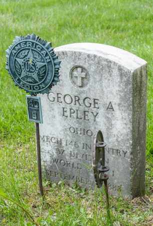 EPLEY, GEORGE A. - Crawford County, Ohio | GEORGE A. EPLEY - Ohio Gravestone Photos