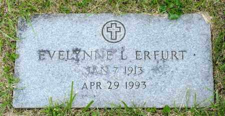 ERFURT, EVELYNNE L. - Crawford County, Ohio | EVELYNNE L. ERFURT - Ohio Gravestone Photos