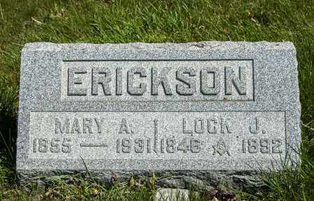 ERICKSON, MARY ANN - Crawford County, Ohio | MARY ANN ERICKSON - Ohio Gravestone Photos