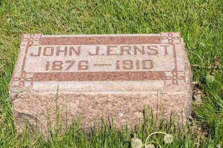 ERNST, JOHN J. - Crawford County, Ohio | JOHN J. ERNST - Ohio Gravestone Photos