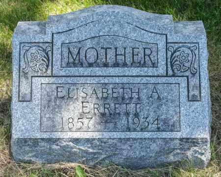 ERRETT, ELISABETH A. - Crawford County, Ohio | ELISABETH A. ERRETT - Ohio Gravestone Photos